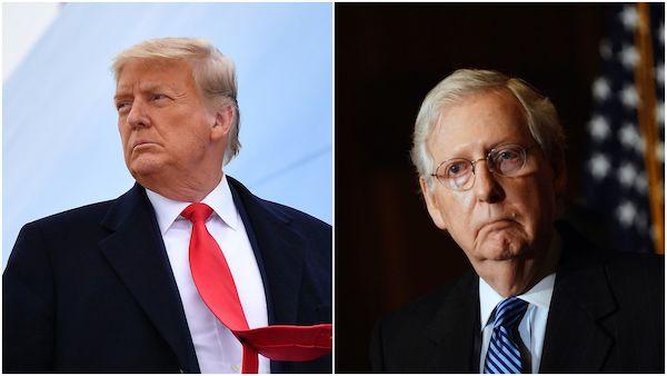 siding with Trump over establishment