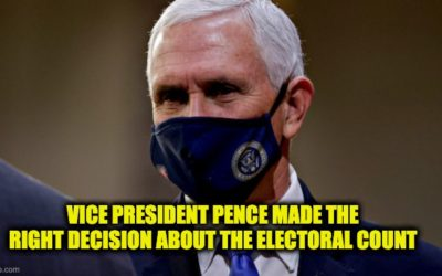I'm A Big Trump Supporter, But I Believe Mike Pence Was Right About His Electoral College Role