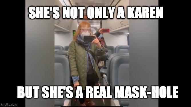 Mask-hole
