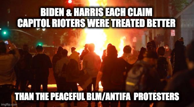 Biden and Harris racism