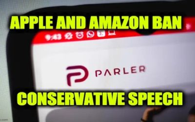 Big Tech Purge Continues: Apple And Amazon Cancel Parler