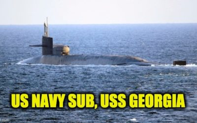 """Foreign Submarine"" (USS Georgia?) Sneaks Up on Iranian Military Exercise"