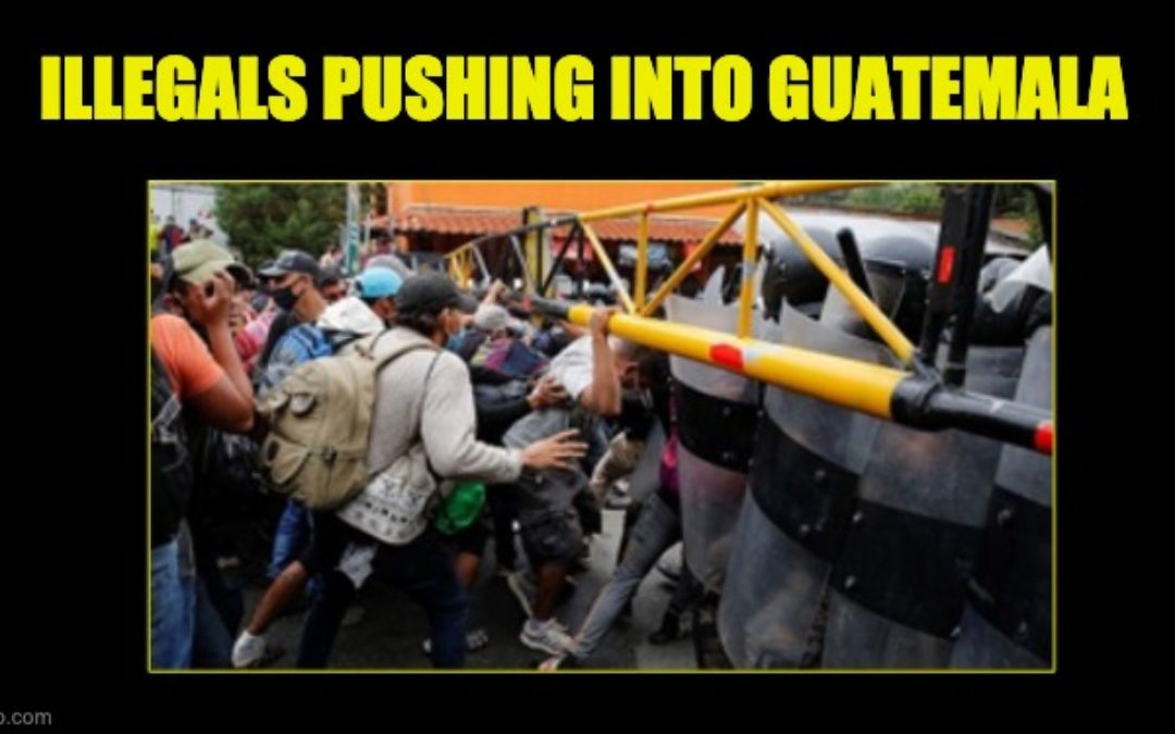'Migrant' Caravan Stormed Through Guatemala Border On Way to U.S. (Video)