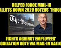 Hypocritical Jeff Bezos Demands Amazon's Unionizing Vote Be In-Person NOT Via Mail