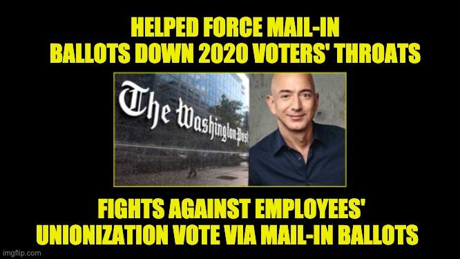hypocritical Jeff Bezos