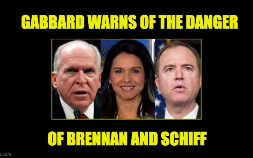 Tulsi Gabbard Slams Schiff, Brennan, And Big Tech As 'More Dangerous' Than Capitol Attackers
