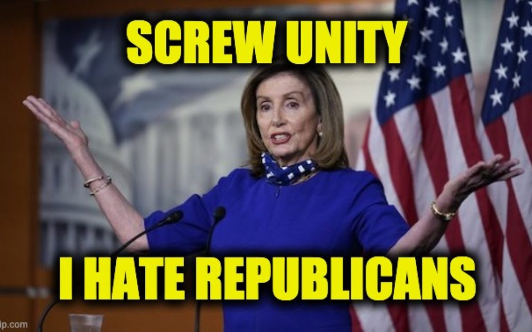 Unity? Pelosi Says GOP House Members The Enemy Within  (Video)