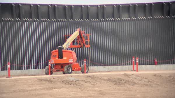 450 miles of border wall