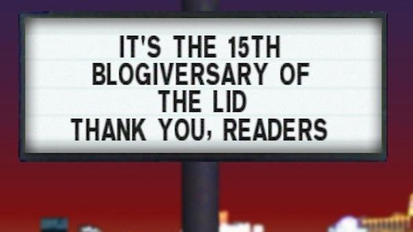 15th blogiversary