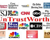 Report: Trust in Liberal Media Hits All-Time Low