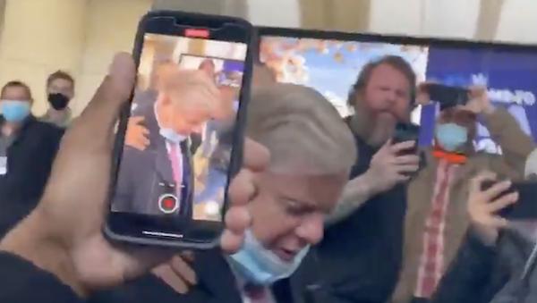 confronted Lindsey Graham