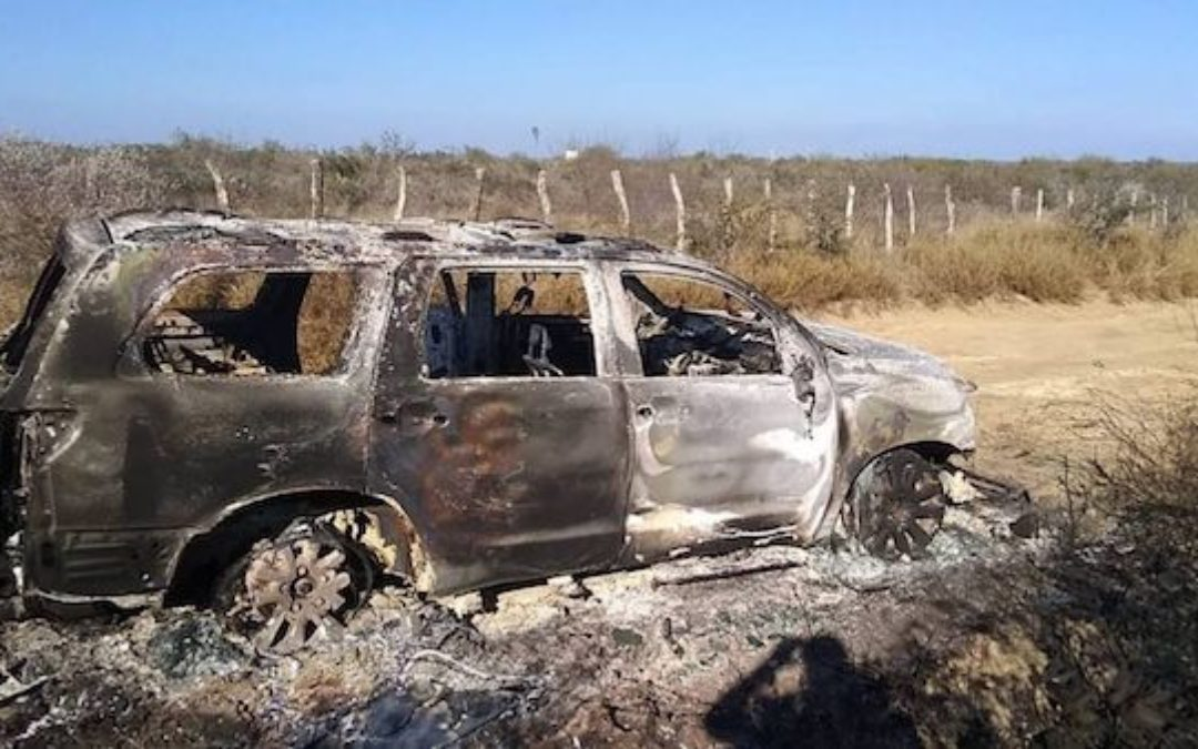 As Biden Opens Borders, Cartel War Leaves 19 Torched Bodies In Mexican Border Town