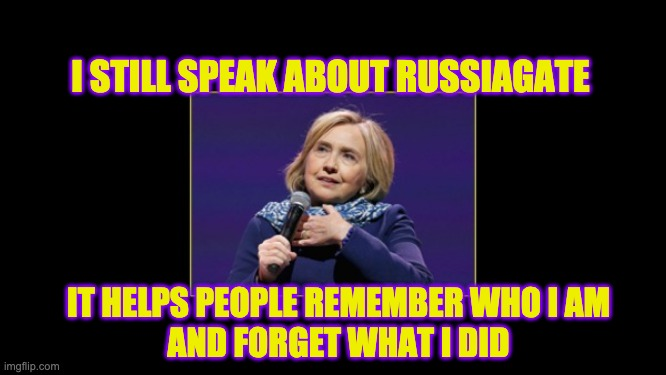 Hillary Clinton RussiaGate