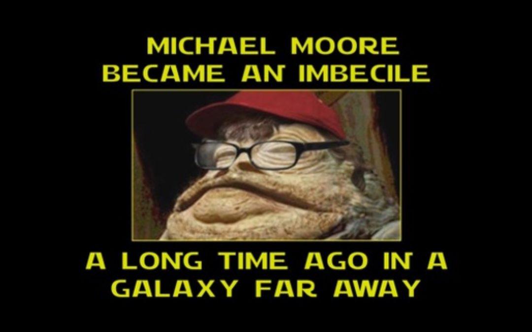 Jabba The Hutt Look-Alike Michael Moore Wants Trump Jailed