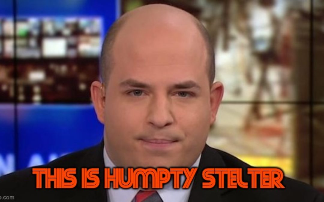 CNN's Humpty Stelter Keeps Pushing To Eliminate Fox News from Cable
