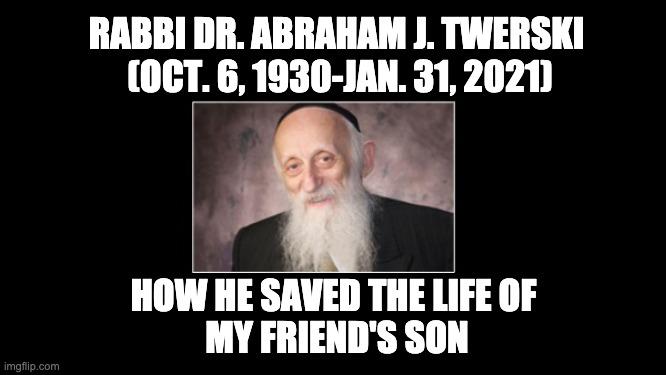 Rabbi Abraham Twerski