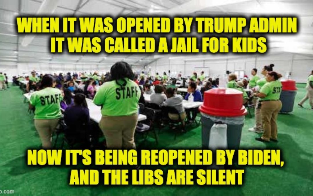 Biden's Reopening Illegal Alien Detention Center For Kids Closed By Trump