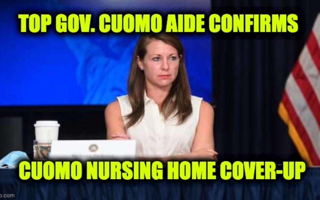 Cuomo Aide Confirms The Gov. Hid Nursing Home Death Totals