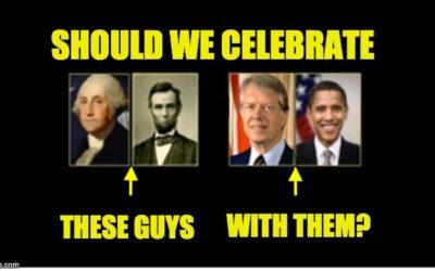 Presidents' Day sham holiday.