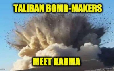 KARMA!  Thirty Terrorists Killed By Own Bomb In Taliban Bomb-Making Class