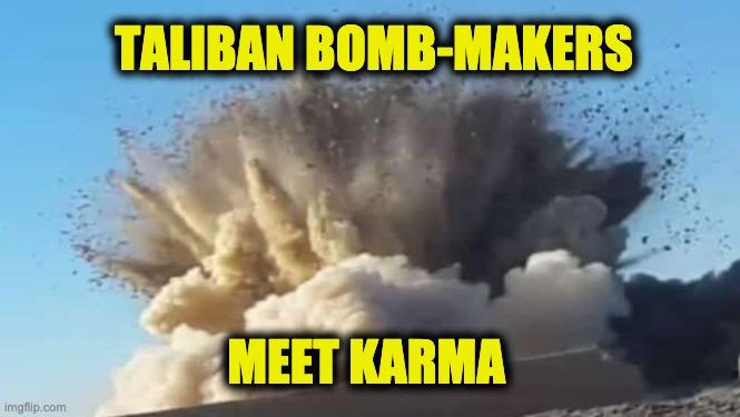 Taliban meets karma