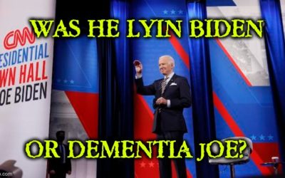 Lying Or Dementia? Biden Claims There Was No COVID Vaccine When He Took Office (Video)