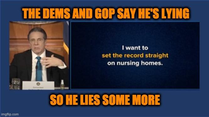 Governor Cuomo lied