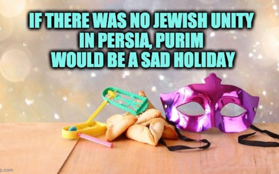 Jewish Unity: Purim's Long-Lost Message