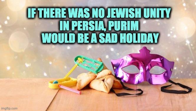 Purim Jewish unity
