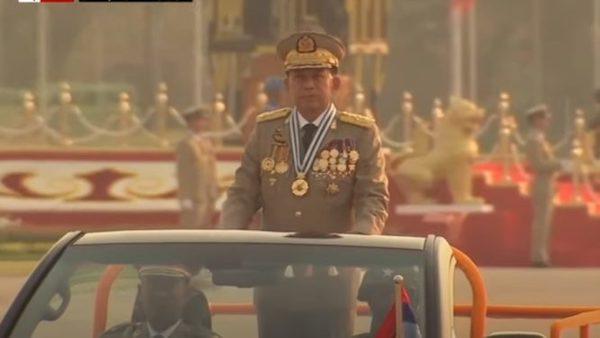 coup in Myanmar