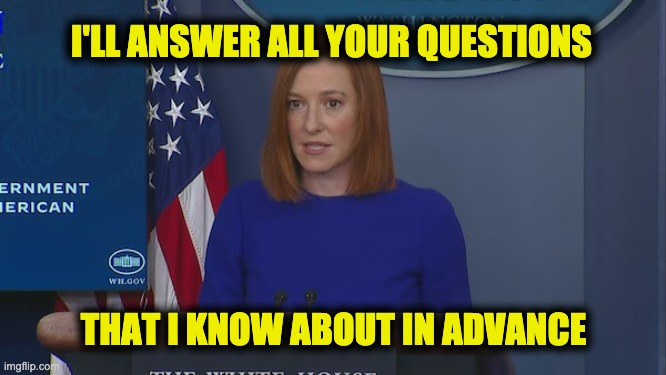 Psaki press briefings