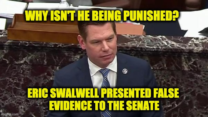 should swalwell be punished