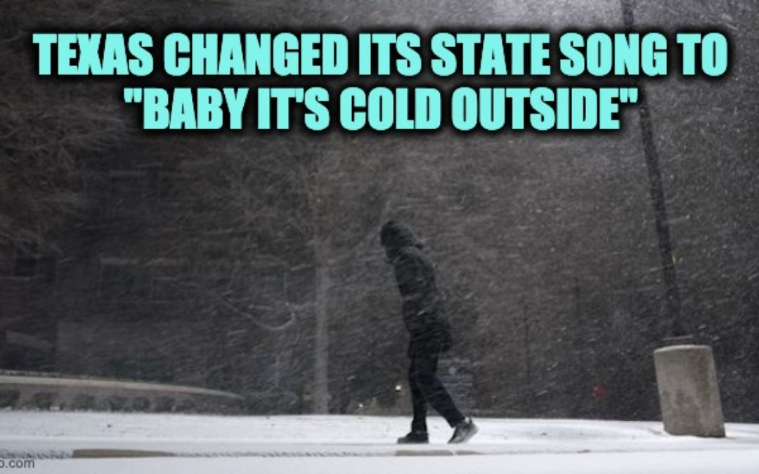 Green Energy FAIL: Winter Storm Hits Texas -Wind Turbines Freeze, Rolling Blackouts, And Multiple Related Deaths