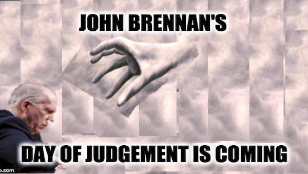 Brennan embarrassed
