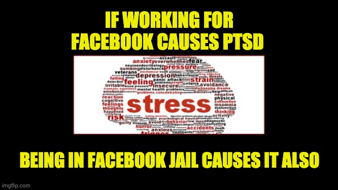 Facebook causes mental stress