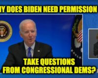 White House Cuts Video Feed After Biden Asks For Questions (Video)