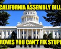 California Politicians Trying To Make Illegal Separate Boys And Girls Sections in Stores