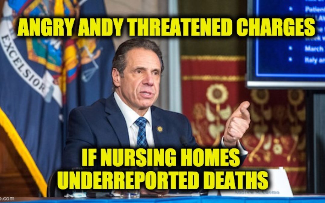 Will Cuomo's 'Penalty Of Perjury' Threat To Nursing Homes Come Back To Haunt Him?