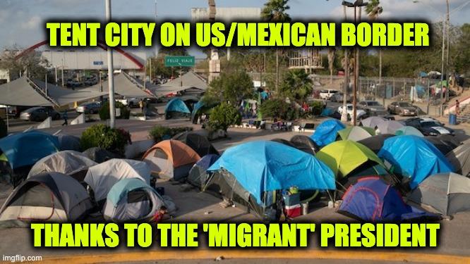 Biden the migrant president