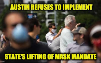 Texas AG Sues Austin Over Refusal To Lift Mask Mandate