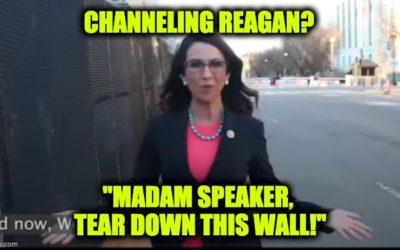 Lauren Boebert Slams Pelosi Over Locked-Down Capitol, 'Madam Speaker, Tear Down This Wall'