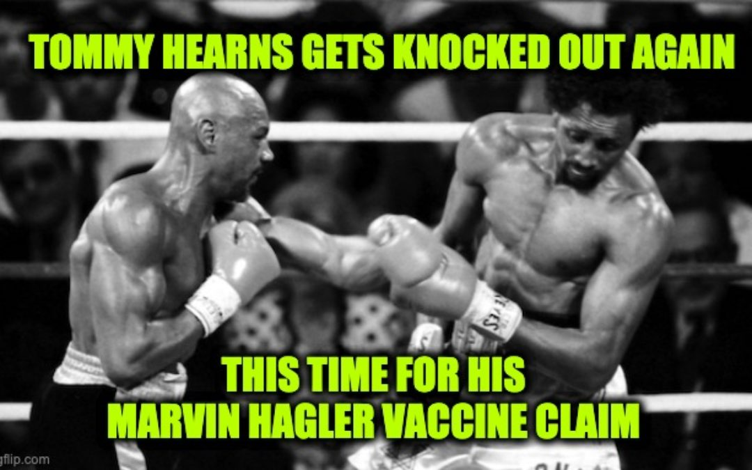 Marvelous Marvin Hagler's Wife Says It 'Wasn't The Vaccine That Caused His Death'