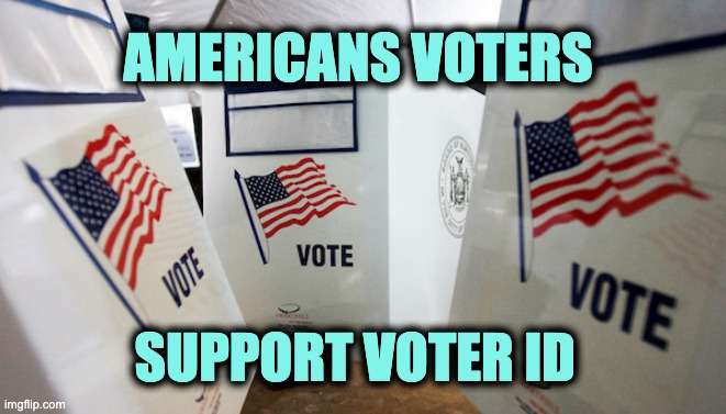 Americans support voter ID