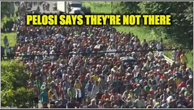 Pelosi border under control