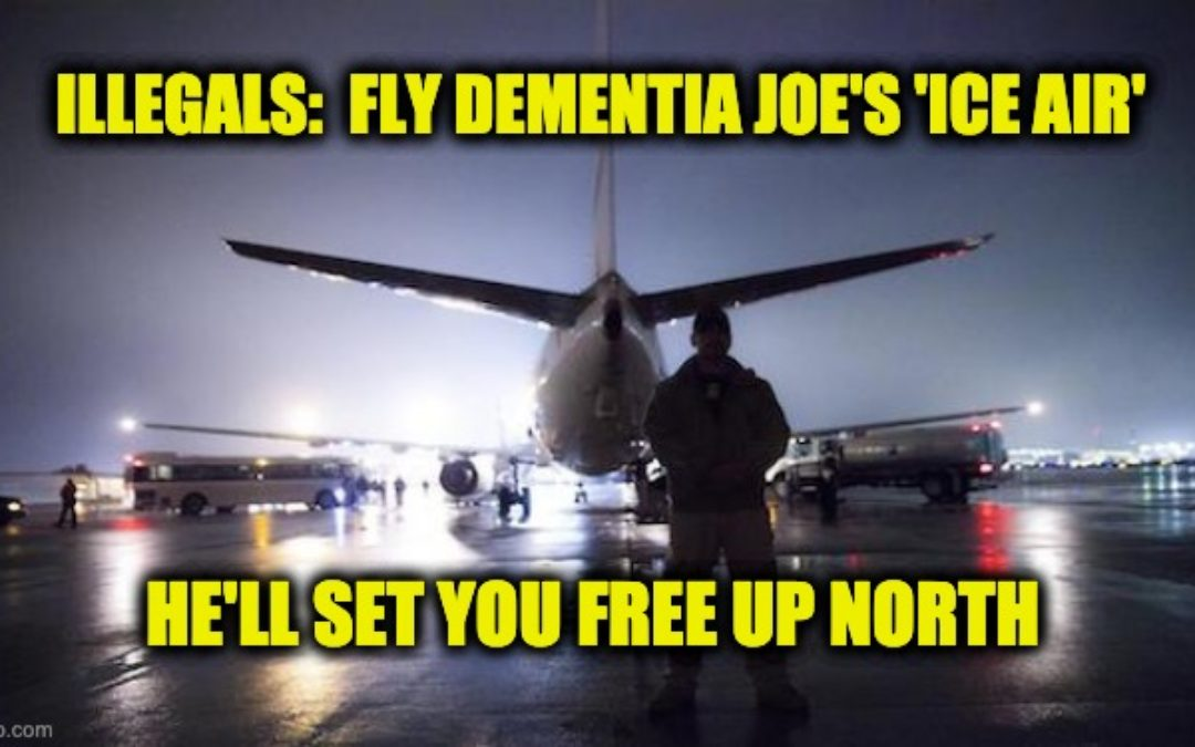 Biden Admin. Looks to Fly Illegal Aliens To U.S./ Canadian Border for Processing