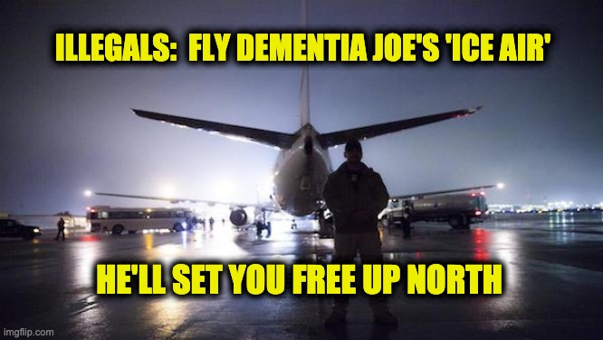 Biden fly illegals north