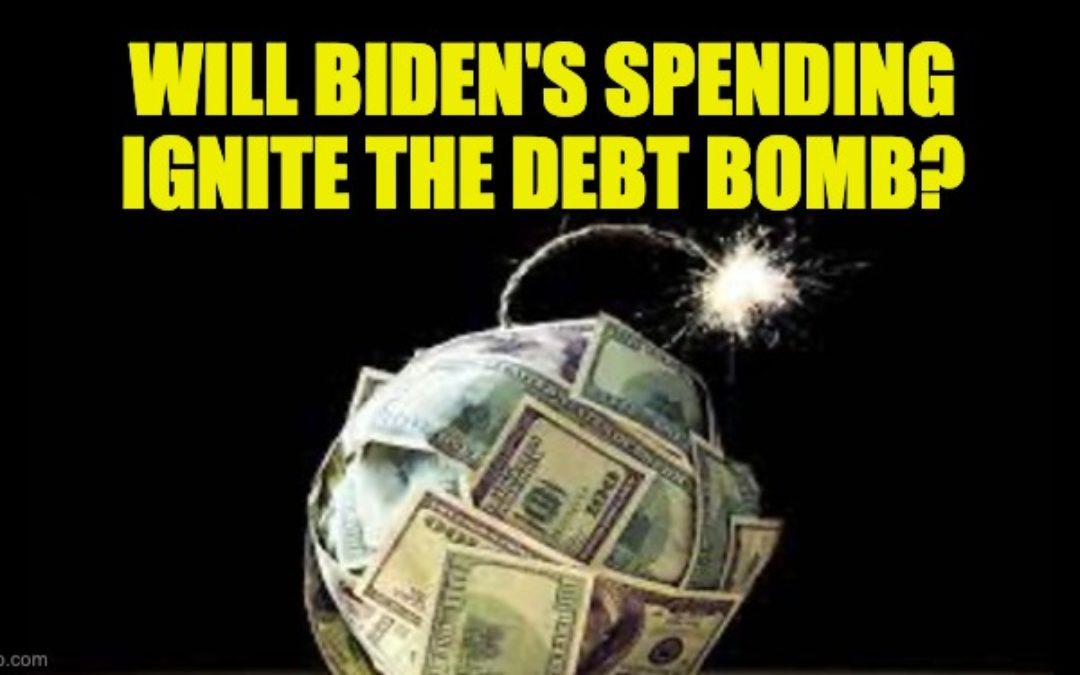 Biden's $3 Trillion Infrastructure Spending Bill May Ignite The Debt Bomb
