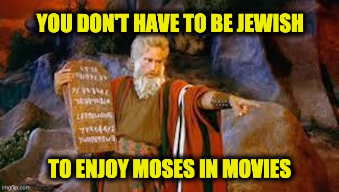 Passover seder Moses