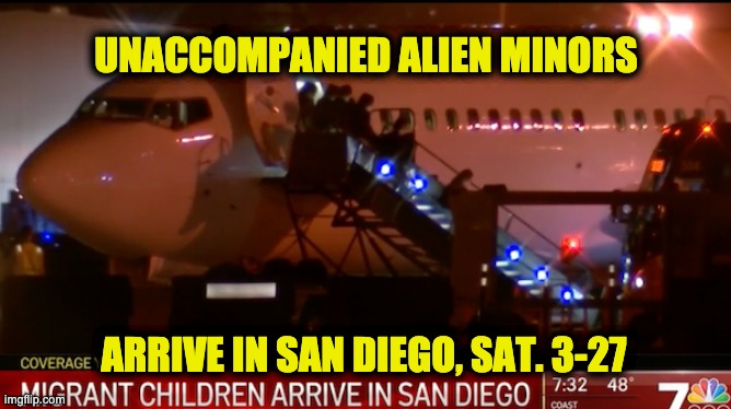 San Diego unaccompanied minor