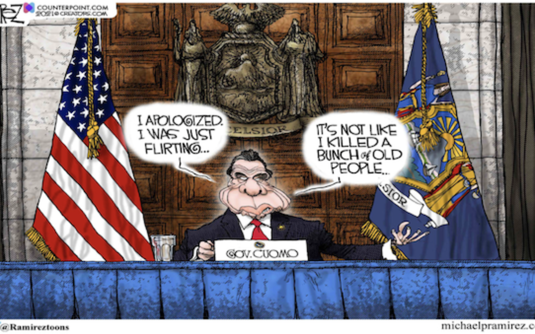 Cuomo's Troubles Multiply-Two New Accusers Come Forward